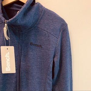 BENCH Purple Zip Up Sweater